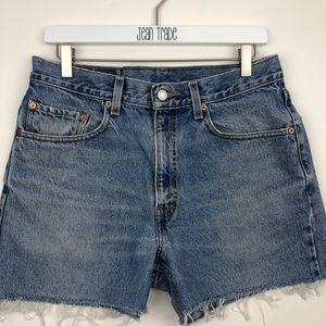 Levi's Cutoff Jean Shorts 550